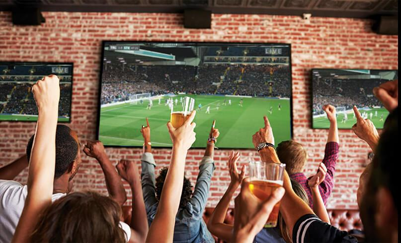 Sports TV for Business from Sound Wave Electronics
